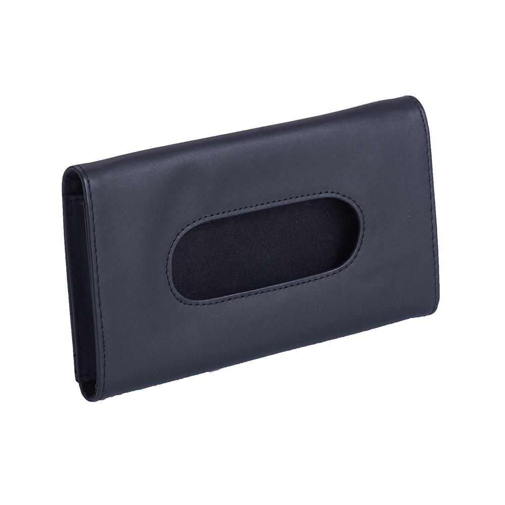 Tissue Box Car Universal PU Car Sun Visor Tipo Hanging Tissue Cubra Auto Clip Holder Papel Guardanapo Acessórios