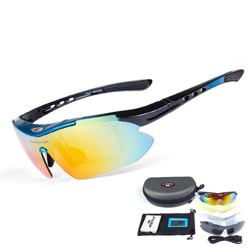 Windproof UV Koruma Bisiklet Gözlük Polarize Taktik Gözlükler Av Yürüyüş Gözlük Açık Sürüş Gözlük Tırmanma