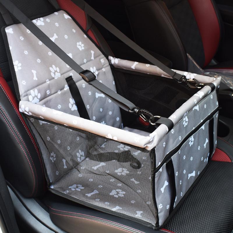 الحيوانات الأليفة تحمل صندوق السفر الكلاب القابلة للطي أكياس القط وسادة قفص الناقل قفص اللوازم النقل سيارة أكسفورد مقعد الحيوانات الأليفة تشين جرو Qiobv