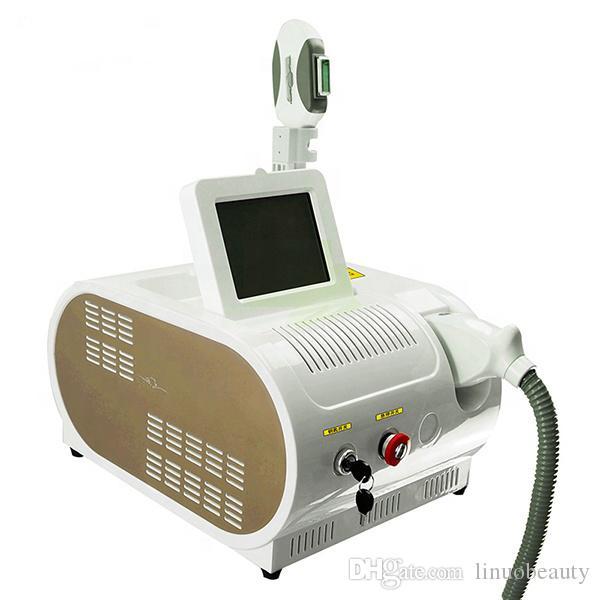 Máquina de depilación Portátil E-LIGHT SHR opt IPL Láser Máquina de depilación Epilator Piel Rejuvenecimiento Salón Uso Equipo de belleza