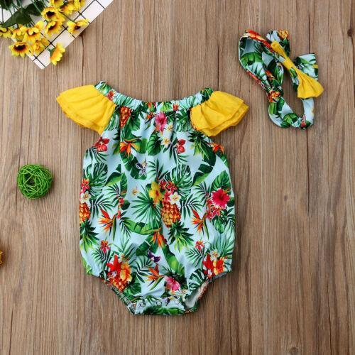 Vêtements bébé nouveau-nés filles bébé bébé Romper Jumpsuit Vêtements Tenues Sunsuit