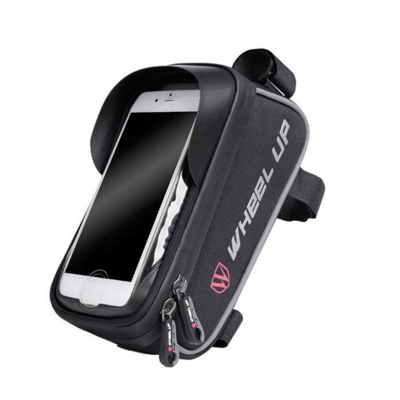 Bisiklet Cep Telefonu Çanta Bisiklet Telefon Dağı Çanta Su geçirmez Dokunmatik Sn Binme Çanta IPhone 11 x Artı XS Max Kadar 6.0 İnç