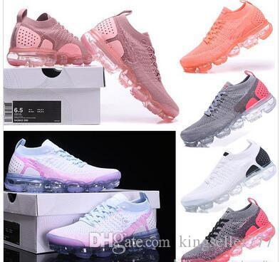 2018 Zebra Örgü 2.0 Koşu Ayakkabıları Beyaz Yumuşak Taban Tozlu Kaktüs Metalik Altın Erkek Kadın Eğitmen Tasarımcı Sneakers EUR 36-40