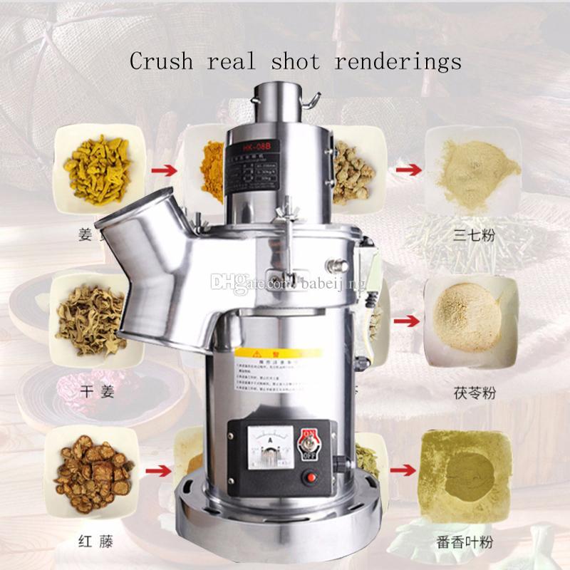 Salıncak Elektrik Taneleri Bitkisel Toz Miller Hububat Kahve Kuru Gıda Öğütücü Un Toz Kırıcı Gristmill Taşlama Makinesi
