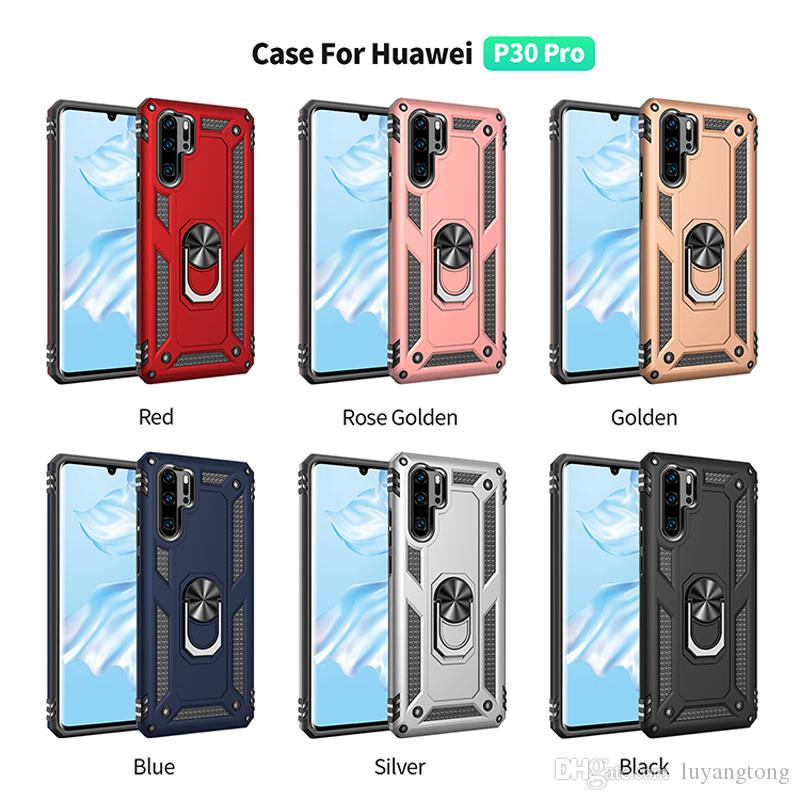 Coque P 30 Full Protection Covers Hybrid Armor Case For Huawei P30 Pro Hard PC Back Case Cell Phone Cases P30 Lite