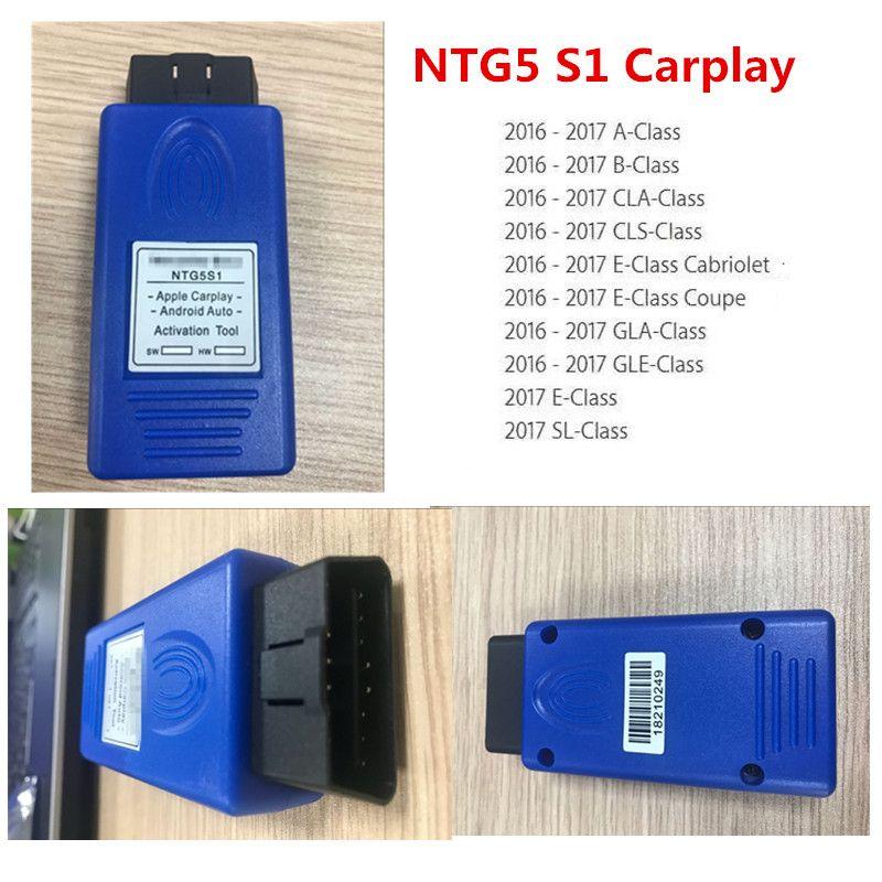 Ferramenta de Ativação Automática para NTG5 S1 CarplayAndroid Auto Ativador OBD2 Ferramenta para Benzunlimited Transporte rápido usado