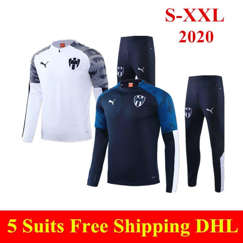 2020 Monterrey futbol forması Özel Sürümü 20 21 Rayados futbol üniforma V.JANSSEN D.PABON R.FUNES MORI Monterey Spor eğitim takım elbise