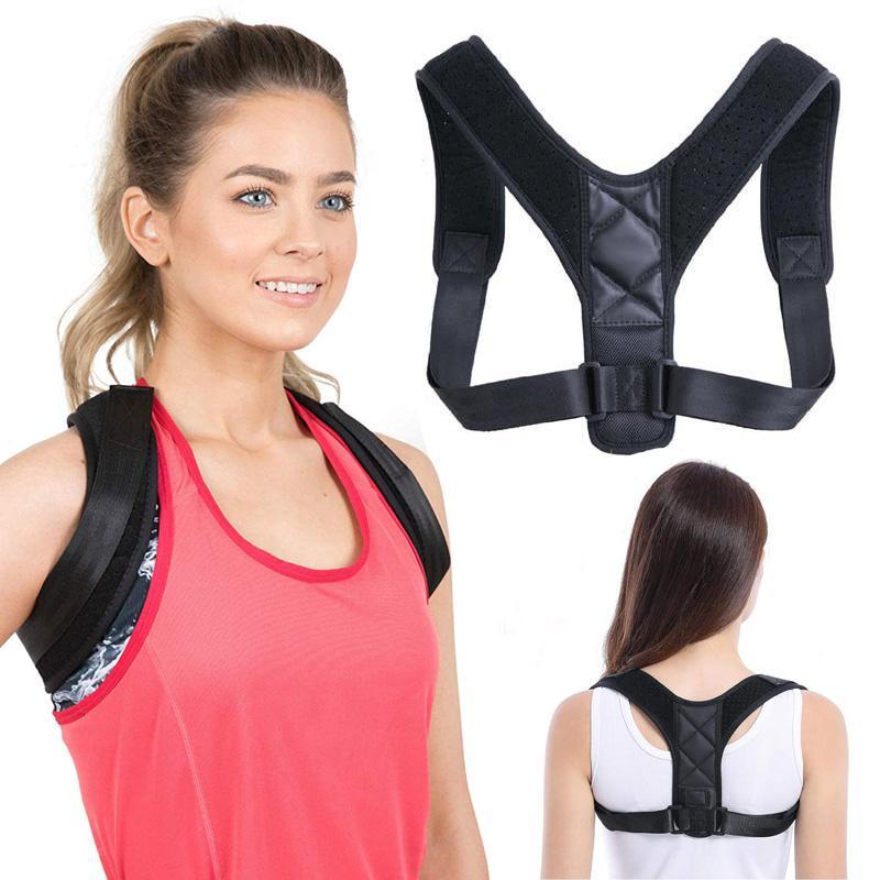 Nouveau unisexe réglable Retour Brace soutien médical Clavicule Posture Correcteur Ceinture Corset orthopédique soutien Brace Retour épaule