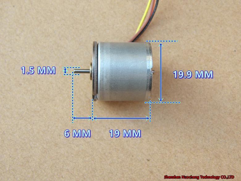 아주 새로운 일본 20mm2 단계 4 철사 족답 모터 그림 인쇄 기계 모터 18 도~