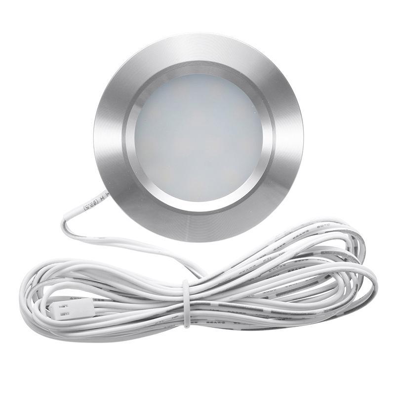 Встраиваемый 12V LED Купол Внутреннее освещение Лампа для кемпинга путешествий лодки автомобиль PI669
