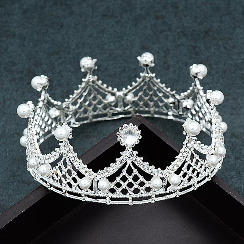rejilla boda vestido de boda de la corona simples aire Accesorios de fotos vestido tocado.