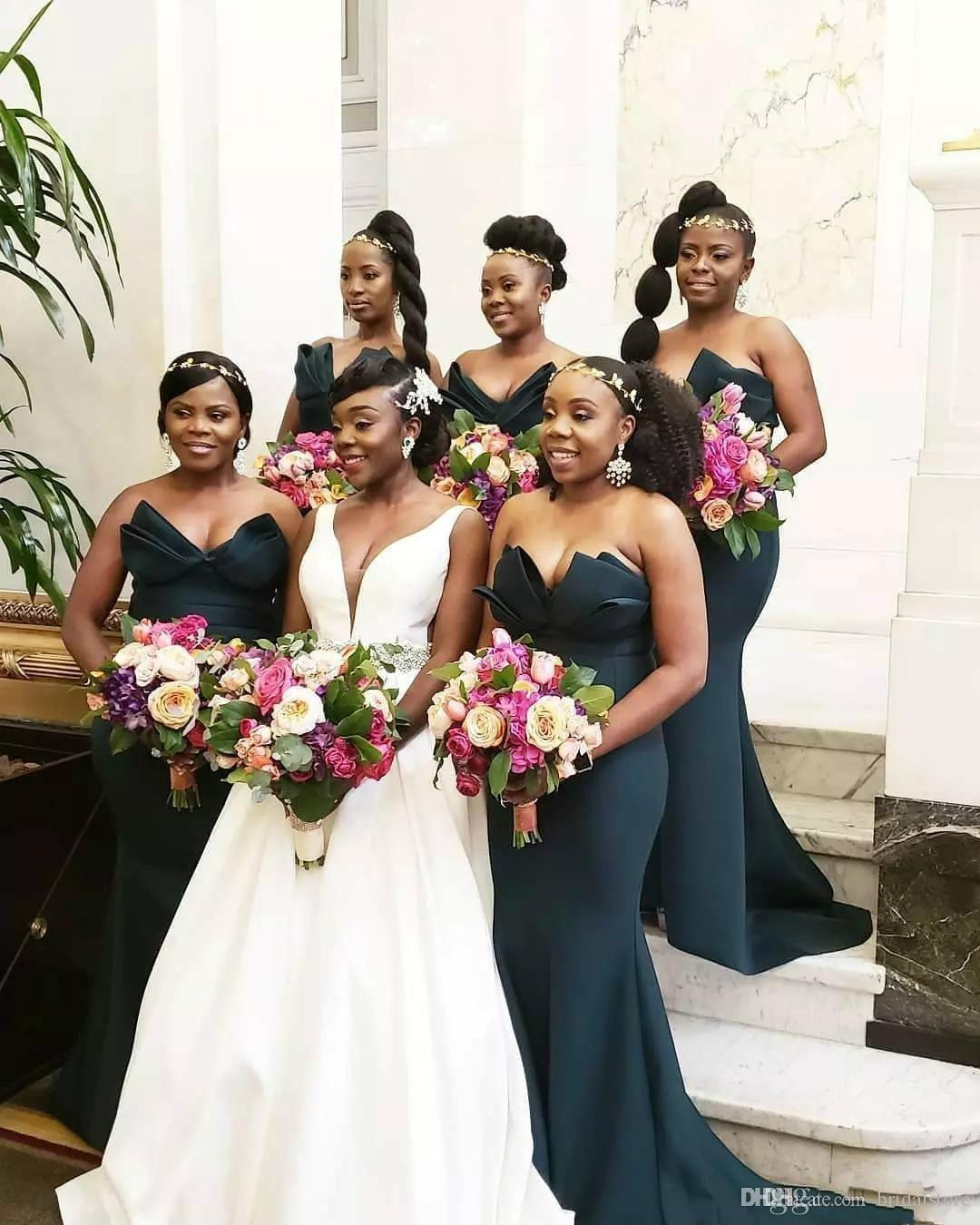 Hot Trend Mermaid Bridesmaid Dresses Plus Size For South Africa Cheap  Country Junior Bridesmaid Dresses Long Robes De Demoiselles D\'Honneur Cheap  ...