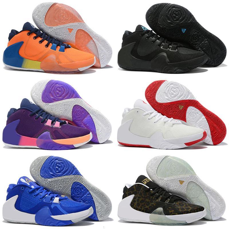 Nuovo Zoom Freak 1 Giannīs Antetokounmpo Ga I 1s Firma per bambini gli uomini delle donne dei pattini di pallacanestro a buon mercato Ga1 Sport Sneakers