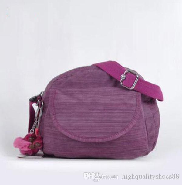 Belçika Marka kip maymun çanta su geçirmez naylon kadın çantası omuz Çantaları crossbody çanta okul çantası İşlevli fermuar çanta K15313-1