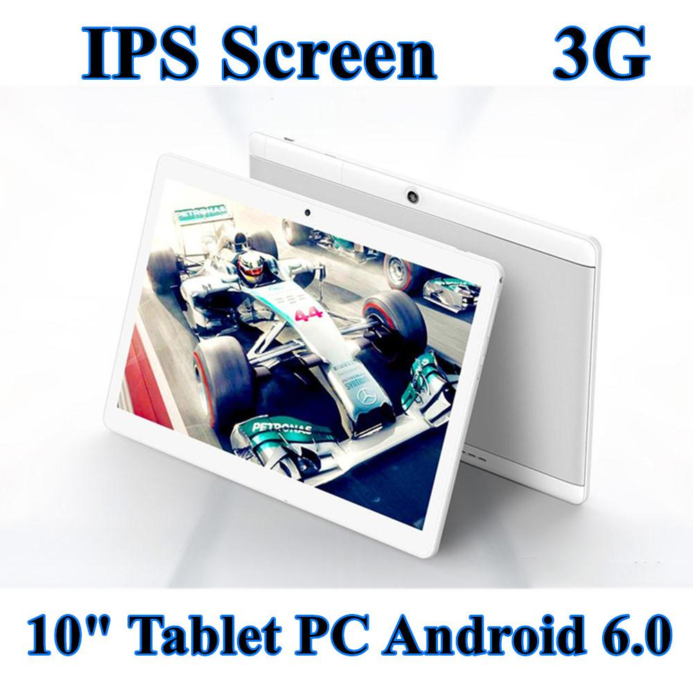 2020 High quality Octa Core 10 inch MTK6580 IPS capacitive touch screen dual sim 3G tablet phone pc android 6.0 4GB 64GB
