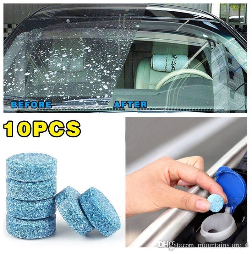 1 ADET = 4L Araba Cam Temizleme Araba Aksesuarları Cam Temizleyici Arabalar Katı Silecek Ince Silecek Araba Oto Ev Pencere temizleme (Perakende)