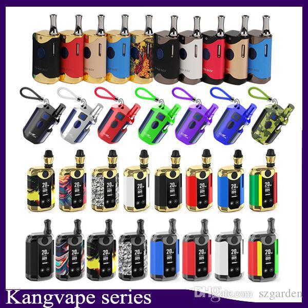 100% Original Kangviape Th-420 II Th710 Th-710 Th420 V Box Starter Kit VV Bateria Caixa de Bateria Mod Tanque de Cartucho de Óleo Espesso Authentic 0268080-2