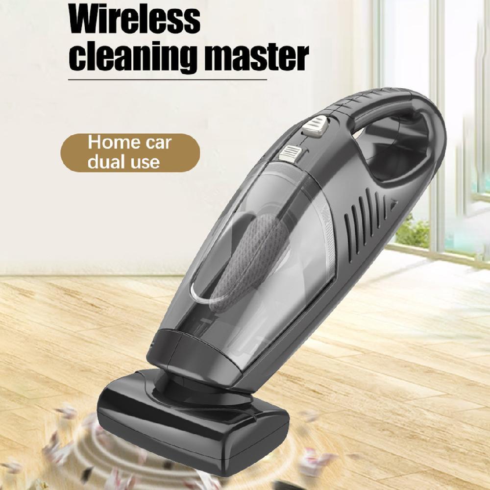 5000Pa 120W Wireless aspirapolvere tenuto in mano asciutto e bagnato a duplice uso Home Auto auto ad alta potenza portatile Vacuum Cleaners 5232A