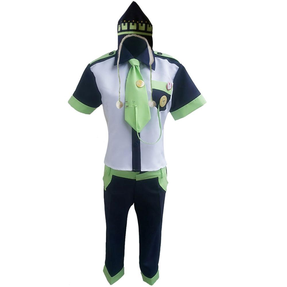 2018 Custom made cos DMMD DRAMAtical Murder Female Noiz Cosplay Costumes