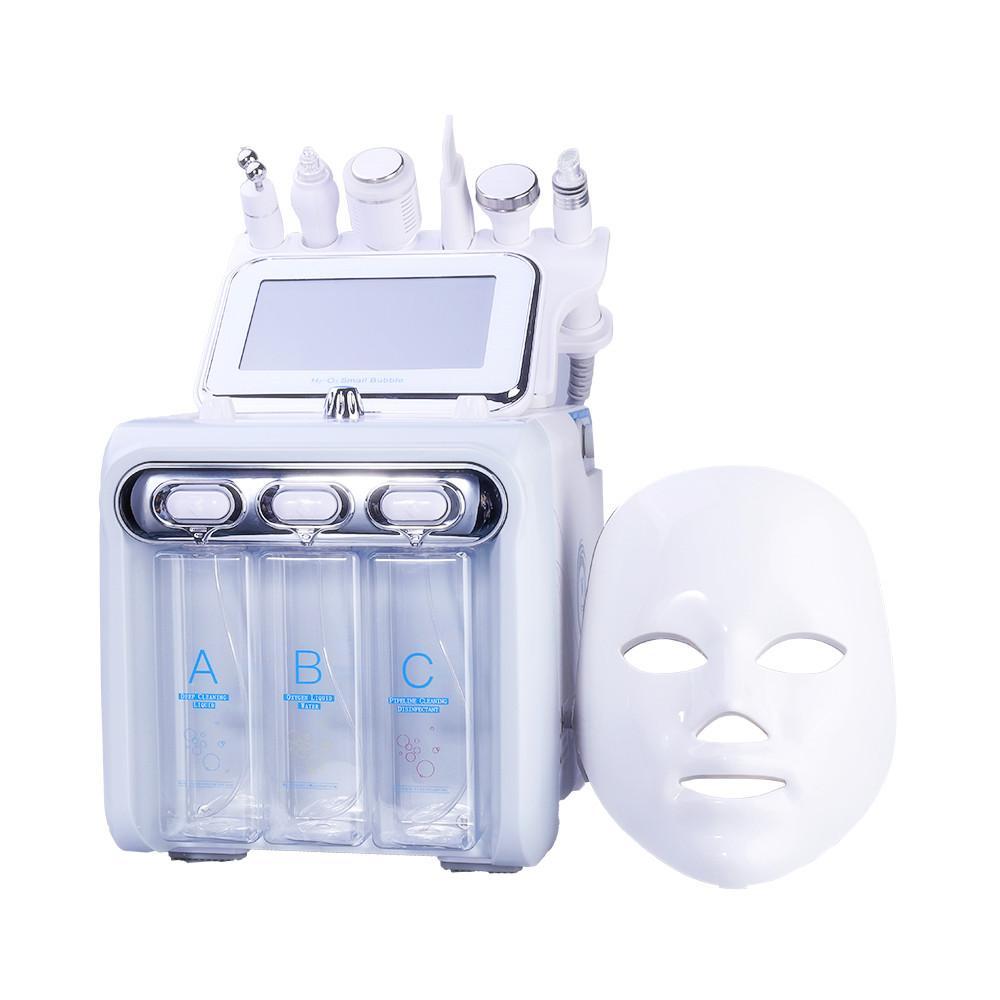 Hot vendendo pequena bolha sete em uma ferramenta de cuidado com pele ultra-sônica RF Hydra profunda facial fator máquina de massagem facial