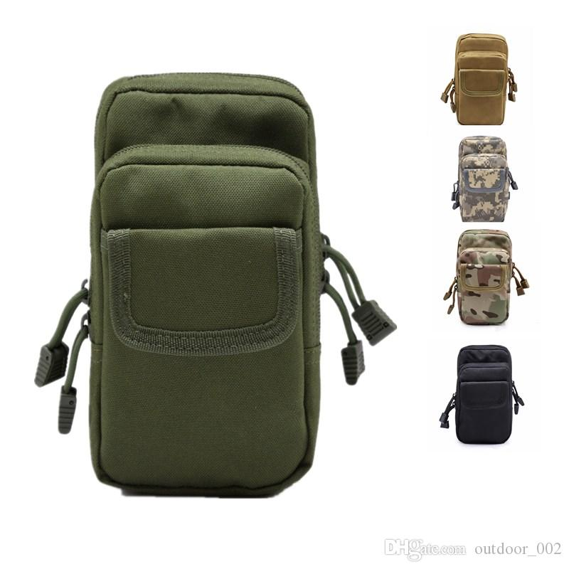 5-color optional multi-function tactical outdoor sports mobile phone pockets wild suit mini slingshot bag mountaineering bag free shipping