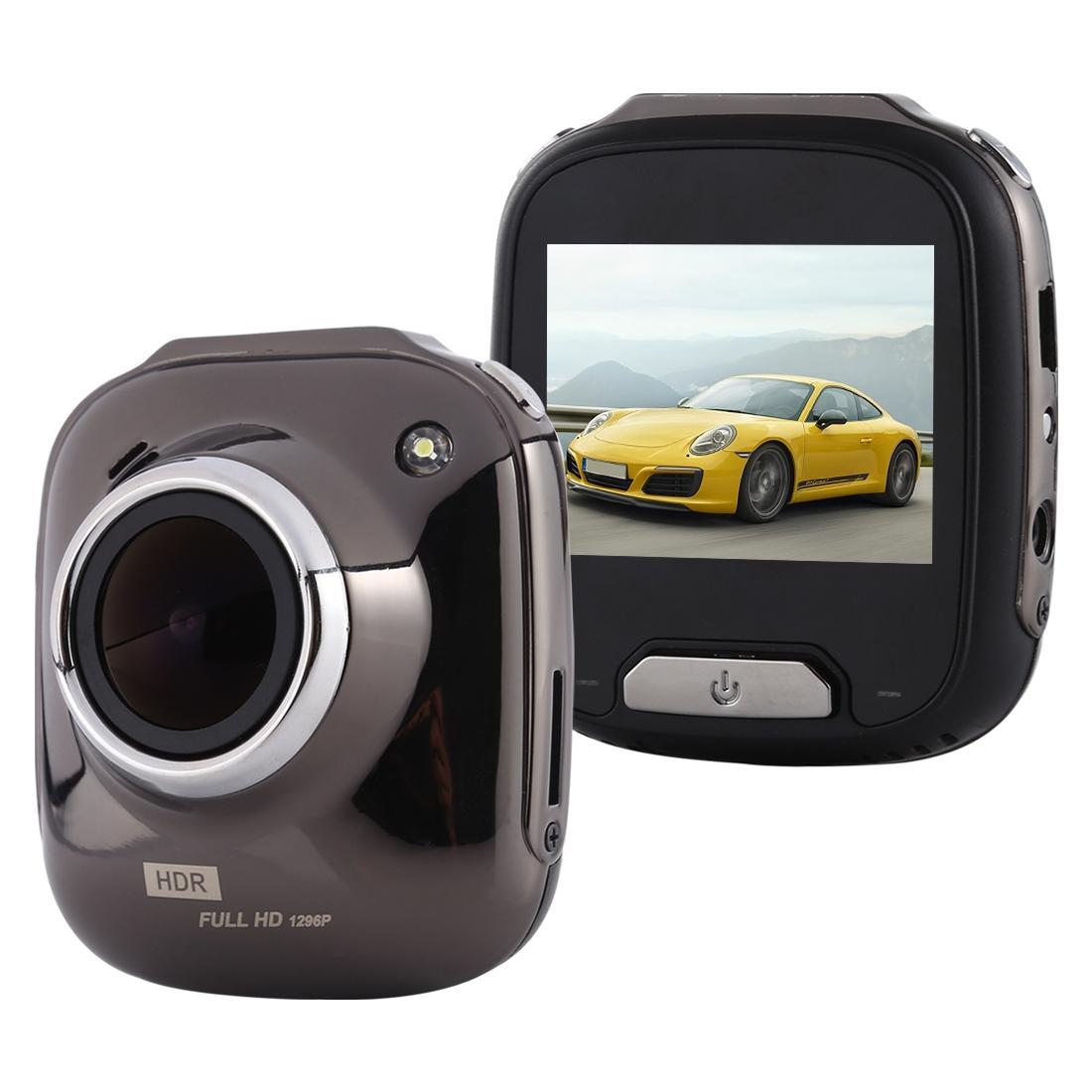 سيارة ميني DVR كاميرا مسجل 2.0 بوصة وشاشة LCD HD 1080P 170 درجة زاوية عرض واسعة، ودعم كشف الحركة / الأشعة تحت الحمراء للرؤية الليلية /