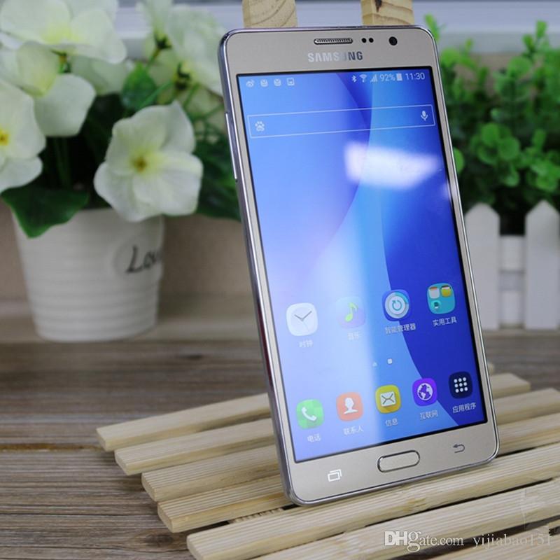 تم تجديده الأصلي سامسونج غالاكسي On7 G6000 مقفلة الهاتف الخليوي رباعية النواة 16GB 5.5 بوصة 13MP ثنائي SIM 4G LTE DHL