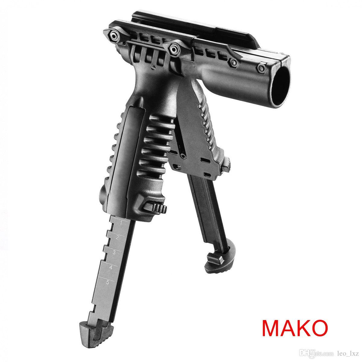 Pince à mâcher Mako avec bipied réglable intégré et 1 adaptateur pour lampe de poche