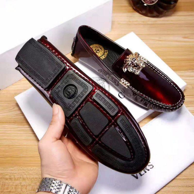 Мужская обувь моды диких личности мода новый бизнес обувь классический горячий (с мешком коробки + пыли)