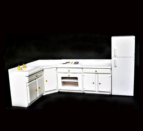 Doll-House Kitchen Furniture (Set of 5)