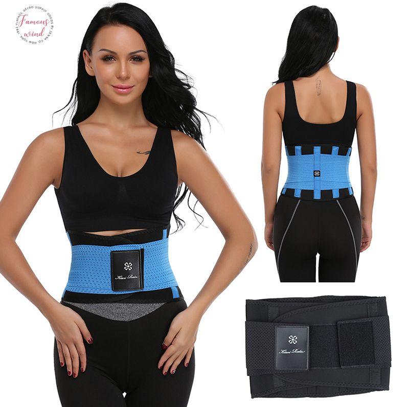 Formadores de estômago mulheres Xtreme Poder Hot Body Slimming Belt Shaper cintura Trimmer aptidão Corset Controle Tummy shapewear
