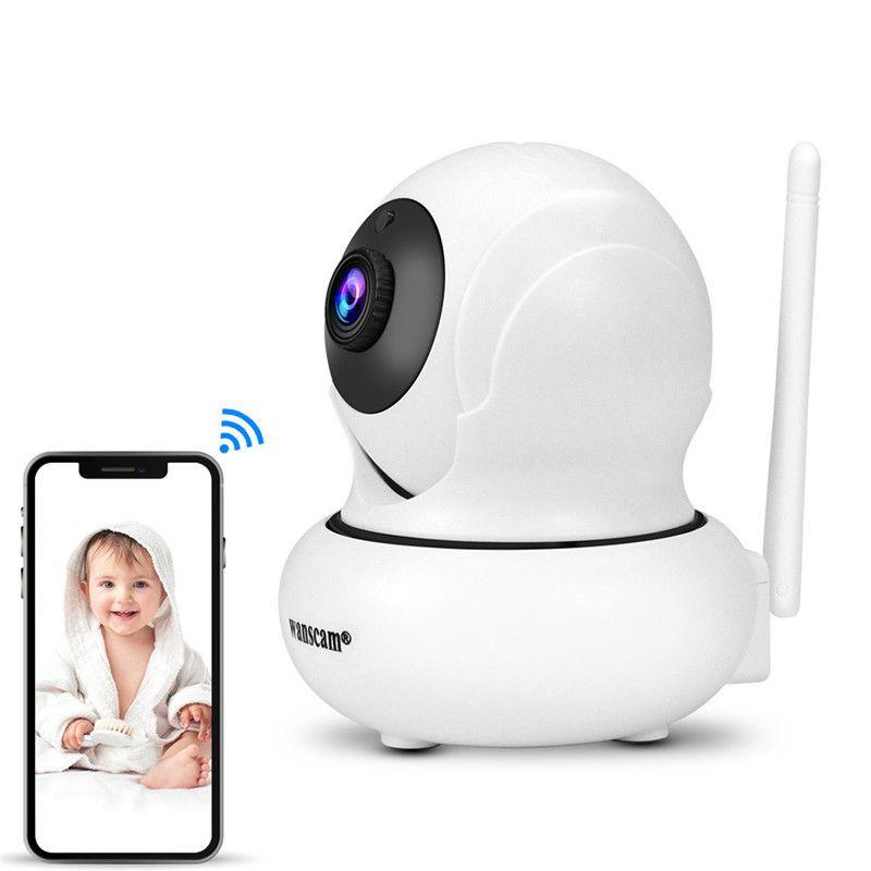 홈 보안 카메라 4 배 줌이 가능한 IP 카메라 1080P 자동 추적 감시 카메라 무선 네트워크 와이파이 PTZ CCTV 카메라 Epacket 무료
