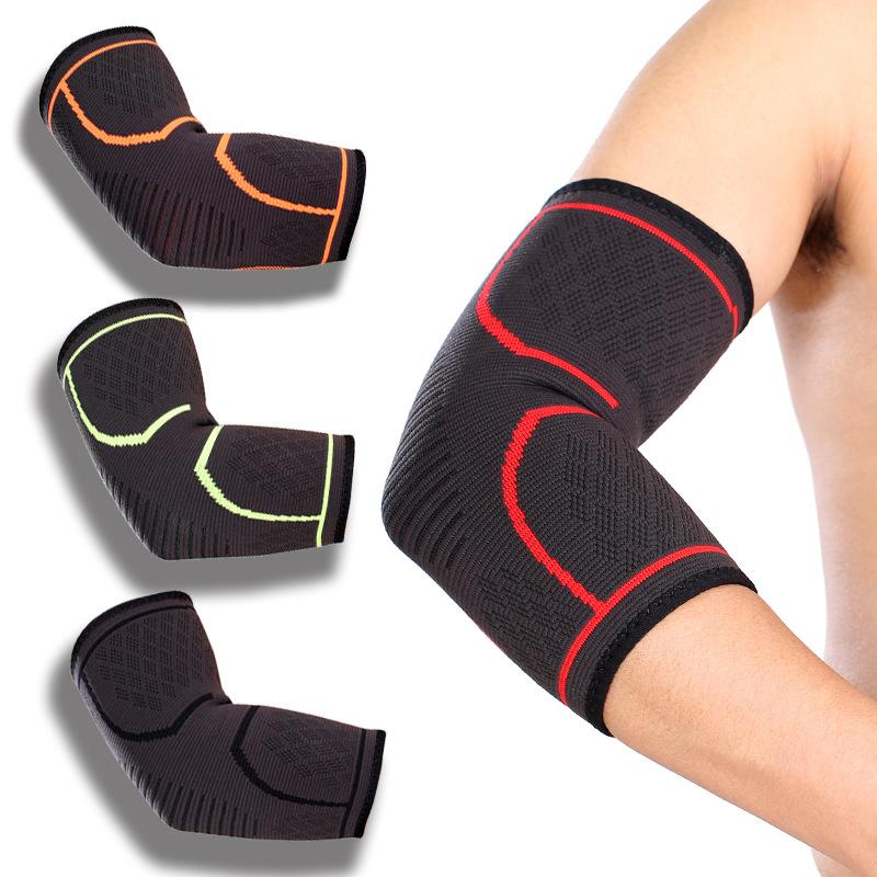 Sports arm warmers elbow pad support cycling protective gear outdoor Riding mountain climbing soft brathable men arm protect FFA3965