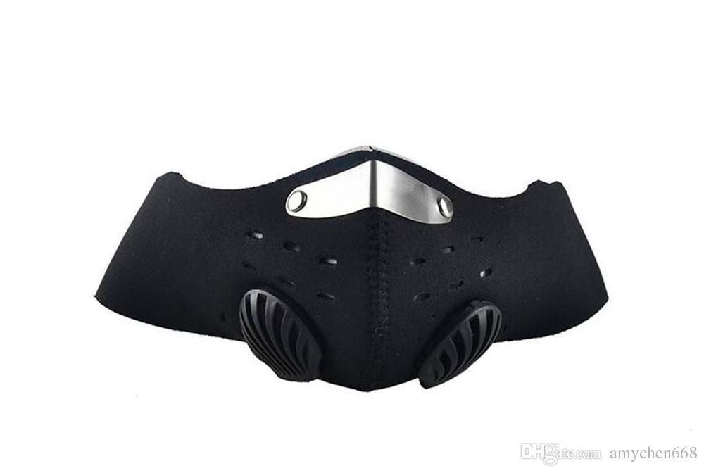 Bisiklet Anti Toz Motosiklet ATV Kayak Yarım Yüz Maskesi Açık Spor Bisiklet Sürme Filtre Toz Geçirmez Ağız-muf 3 Renk