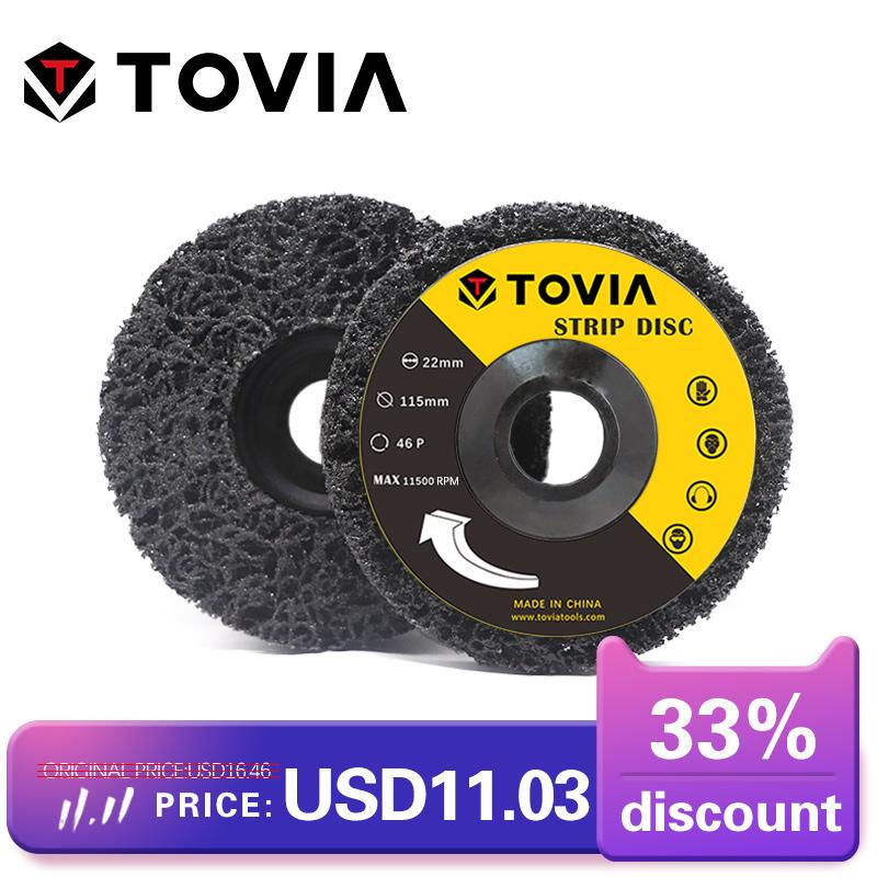 Poly Strip Angle Grinder Wheel Discs Paint Rust Remover Clean For Abrasive Tools