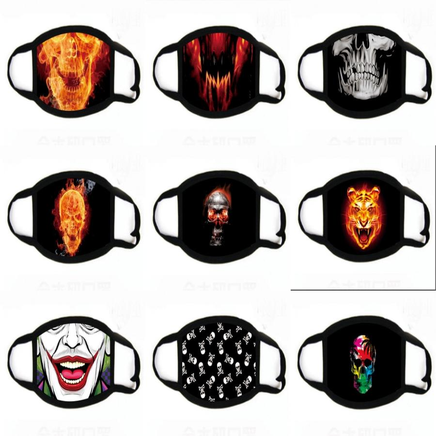 Orror Masque alloween Masques d'impression Glowing Purger Masques impression Election Mascara Costume DJ Party Up Ligt Masques d'impression Glow In Dark 10 # 666