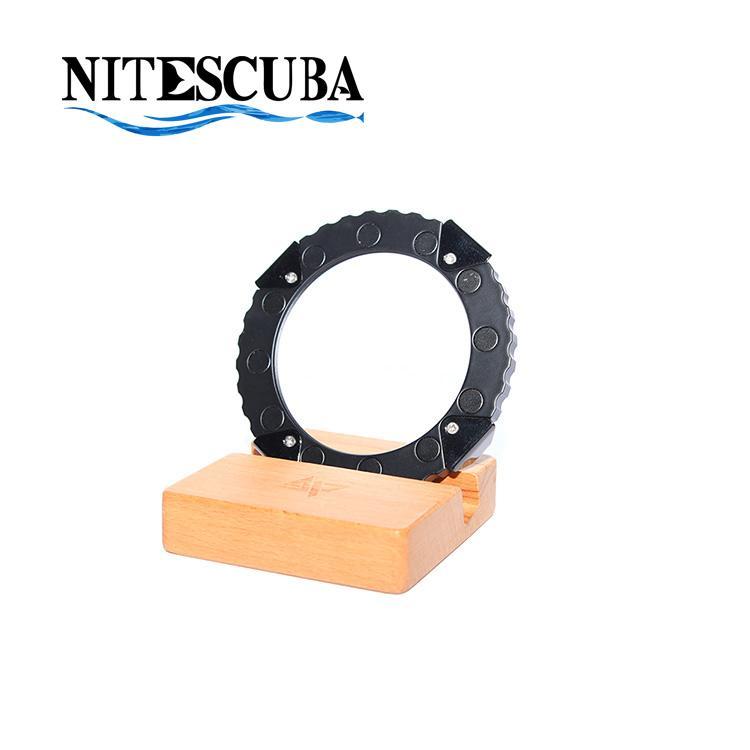 Underwater Single Lens Holder for M67 Thread Macro Wide Angle Fisheye Lenses