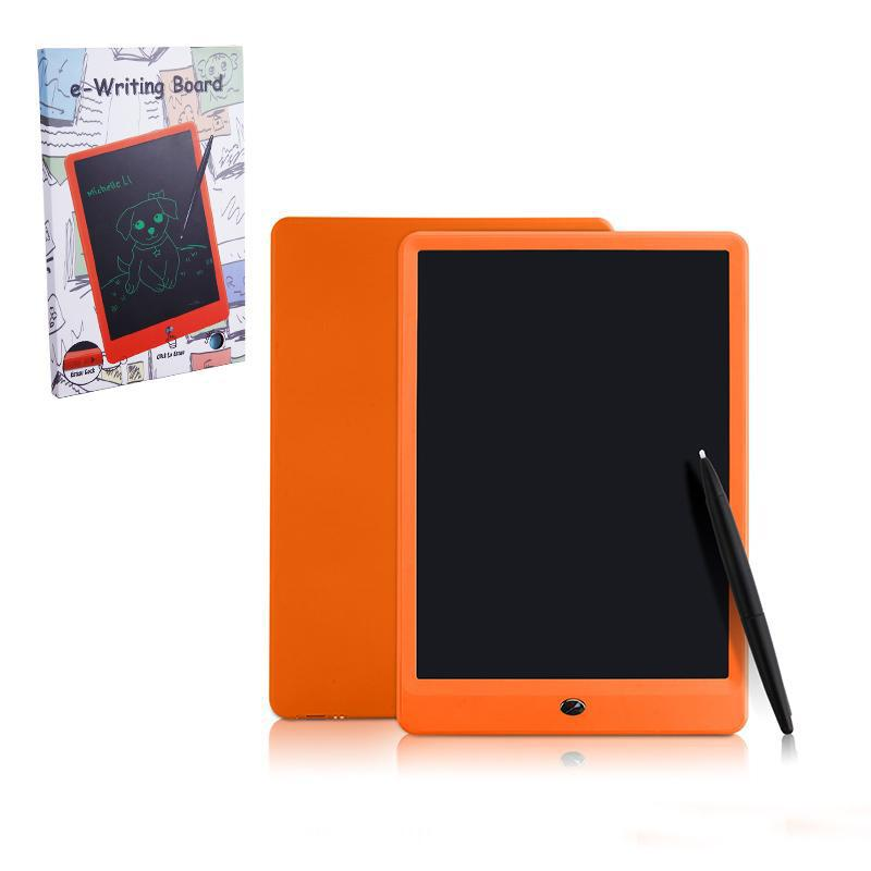 Red Suitable for Children Drawing Graffiti Memo Gift Lock Screen One Button Erase 10 Inch LCD Writing Board//Light Energy Electronic Blackboard