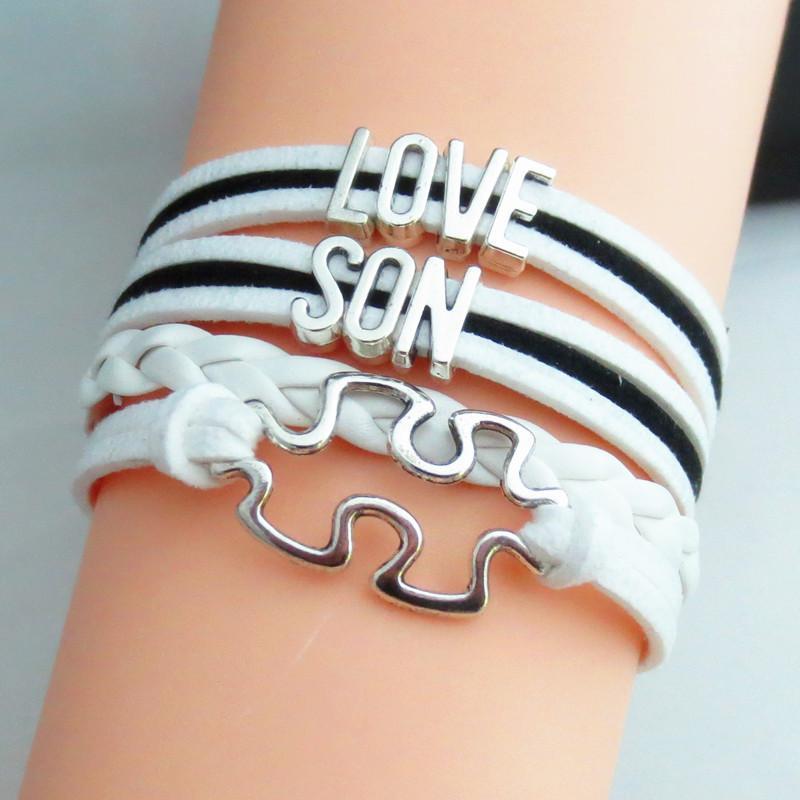 Mode Charme Liebe für Sohn Armbänder Mode Tücken Spiel Armbänder Heißer Verkauf Sohn Geschenke Kinder Geschenk