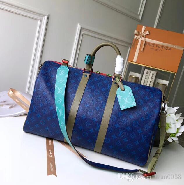 NER 2020 bolsas de lujo de la correa diseñadores de moda de los hombres bolsos del mensajero del hombro del bolso de totalizadores de la cartera carteras del equipaje de la lona