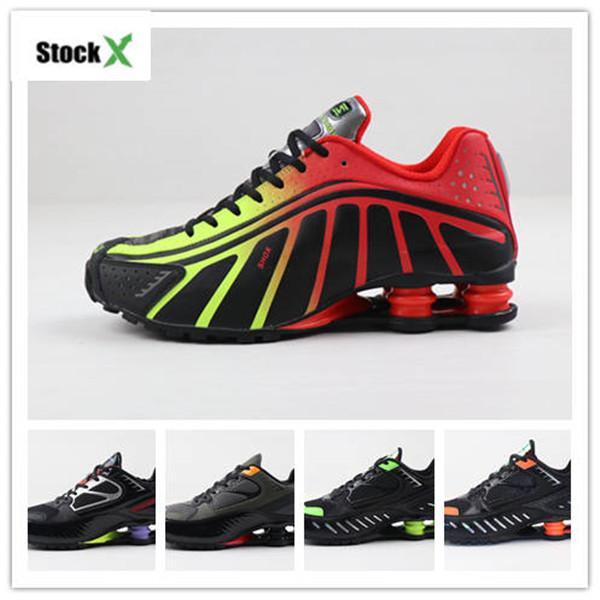 Neymar x R4 Hommes Chaussures de basket Avenue actuel NZ R4 Livrer 301 Défi Noir Rouge Orange Mens Trainer Designer
