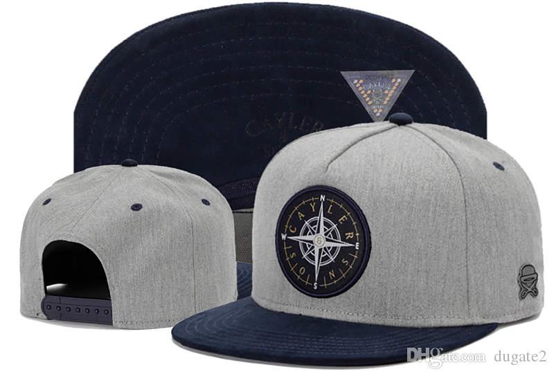 спорт Высокого качества Бейсбол Hat Snapback женской мужские Cap Новых Snapback Шляпа Cap Cayler Sons оснастка назад шапки регулируемого размер капля Доставка