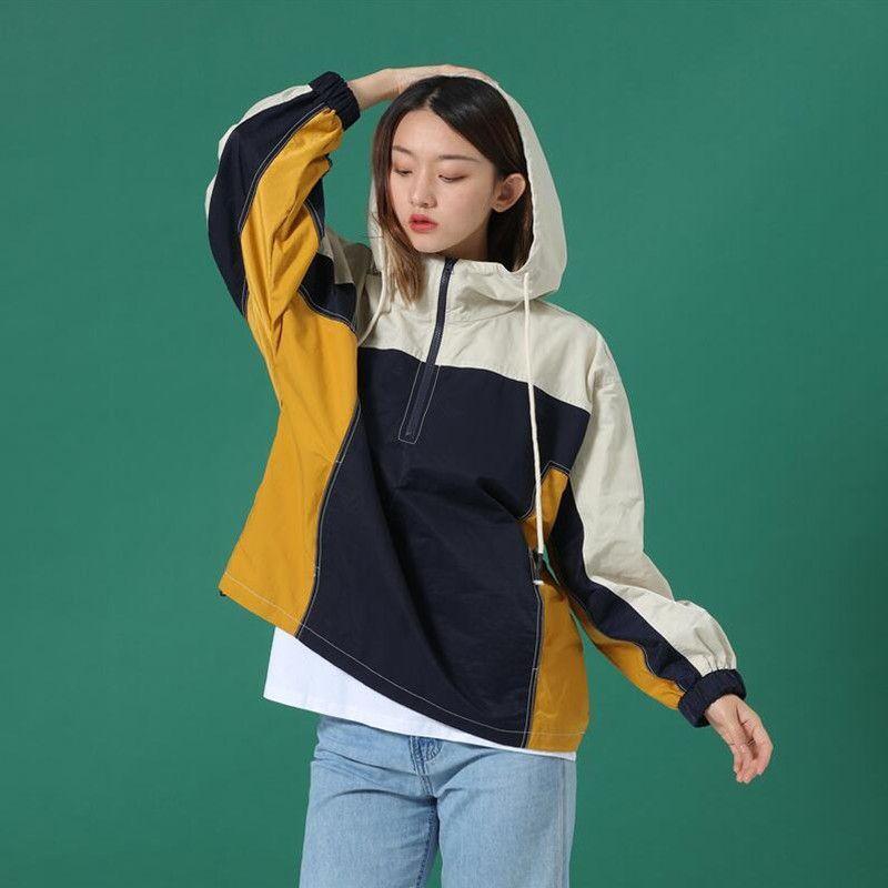 Designer Giacche con cappuccio ragazze Giacca Student nuovi uomini di modo Giovane stile casuale Max Size 2XL buona qualità accoppiamenti da usura