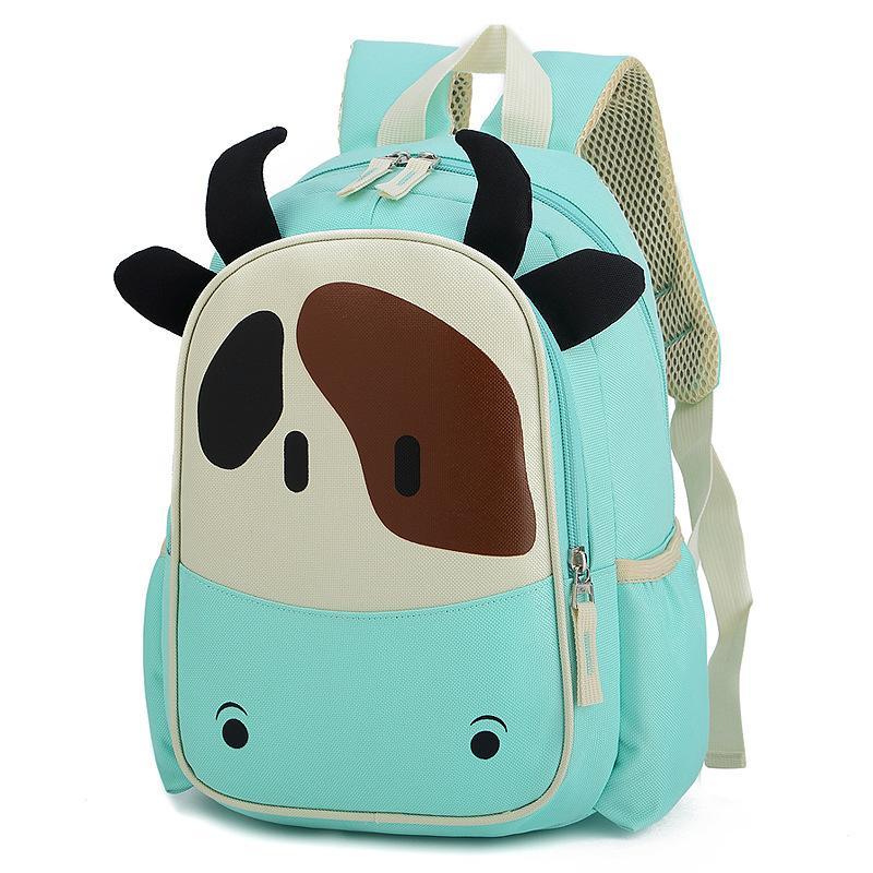 Crianças Backpack Vaca bonito jardim de infância Backpack Girl'S-Desenhos animados do bebê Bolsa Escola Fabricantes Venda Direta