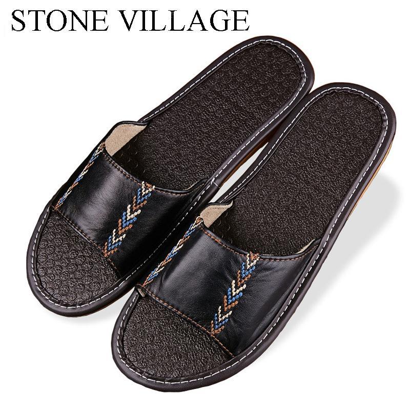 Qualitäts-Schaffell-Hausschuhe Anti-Rutsch-Boden Schuhe Griffige Innen Mode Startseite Slippers Damen Herren Schuhe 11 Farben ST828