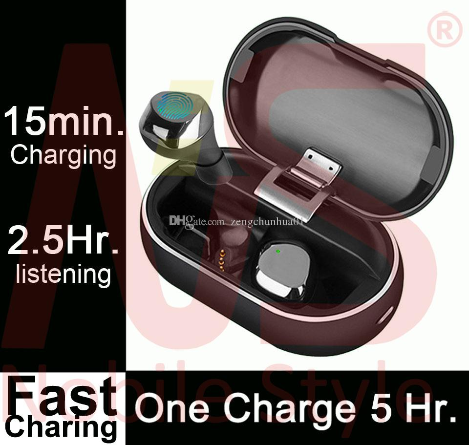 10pcs #72Hrs with Charging Case# Mini Wireless Earbuds Bluetooth TWS Wireless Earphone 5.5 Hours Listening PK i7 i8 i9 i10 i12