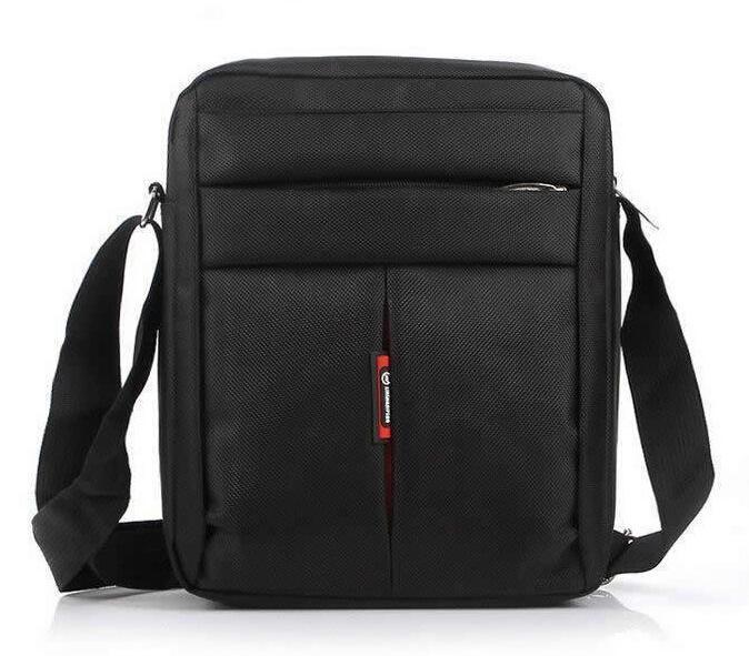 Горячие продажи высокого качества Mens сумка Случайный человек Business Messenger Оксфорд плеча сумки для путешествий Черный Коричневый Спорт Crossbody закрылков