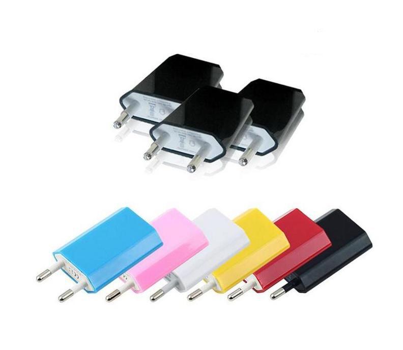 الاتحاد الأوروبي الولايات المتحدة الأمريكية الدهون الجدار محول العالمي قابس USB الرئيسية شاحن السفر السلطة مكعب 1A ه السيجار للجوال الهاتف الذكي الروبوت S6 S7 S8 S9 مذكرة 3
