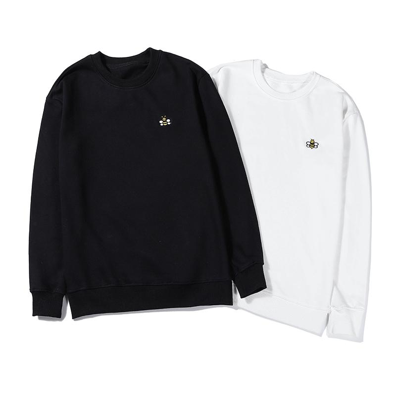 Alta diseñador de moda para mujer para hombre Sweatershirts Abeja Imprimir Casual marca con suéter de calidad superior del resorte de lujo B101689V otoño