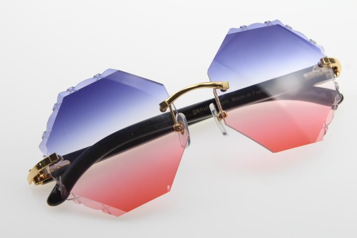 Gafas de sol Venta al por mayor Dentro Masculino Blanco Vendiendo Femenino Buffalo y 2020 Calidad Moda Alto 4189706 Gafas de Sol Cuerno Original Black MXHWF